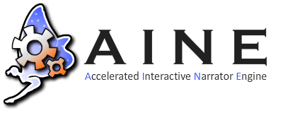 AINE: Accelerated Interactive Narrator Engine